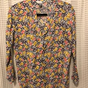 Old Navy Floral Tunic Shirt